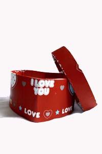 heart box, heart shaped box, gift box, present box