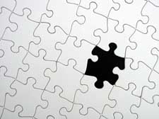 missing puzzle piece, jigsaw, jigsaw puzzle, mystery